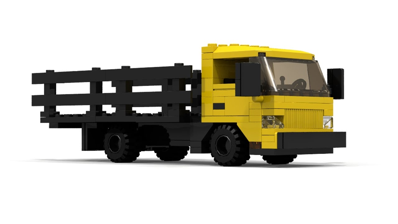 lego cargo truck instructions
