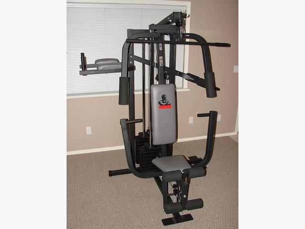 weider home weight machine manual