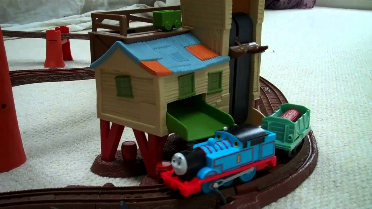 mattel thomas the train track instructions