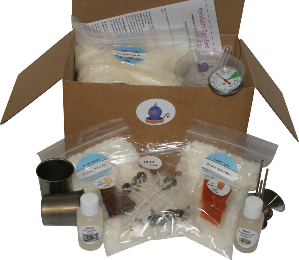 candle making kit instructions