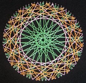 circle string art instructions