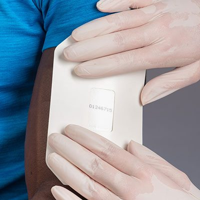 how to pass a sweat drug patch test