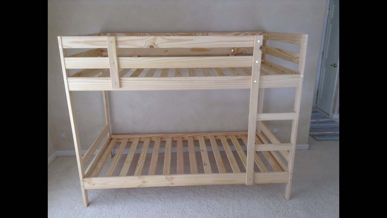 manhattan loft bunk bed instructions